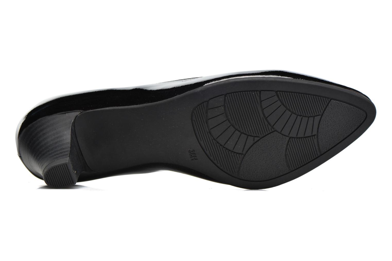 Escarpins Jana shoes Violetta Noir vue haut