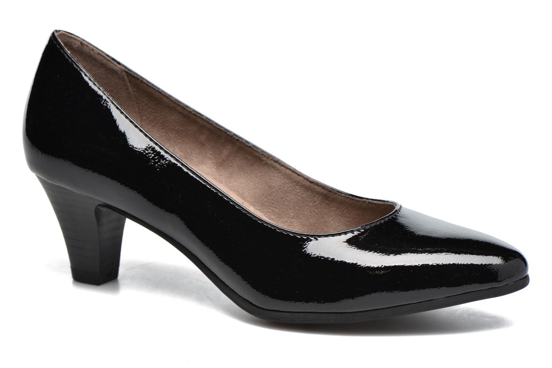 Escarpins Jana shoes Violetta Noir vue détail/paire