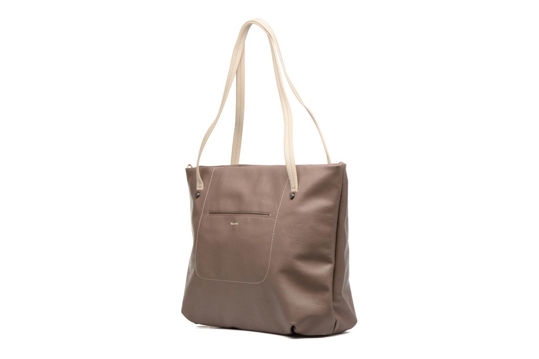 Sacs à main Tamaris Pauline Shopping Bag Marron vue portées chaussures