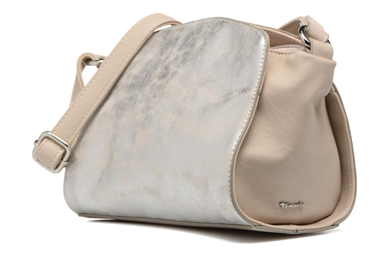 Sacs pochettes Tamaris Courtney Crossbody Bag Beige vue portées chaussures