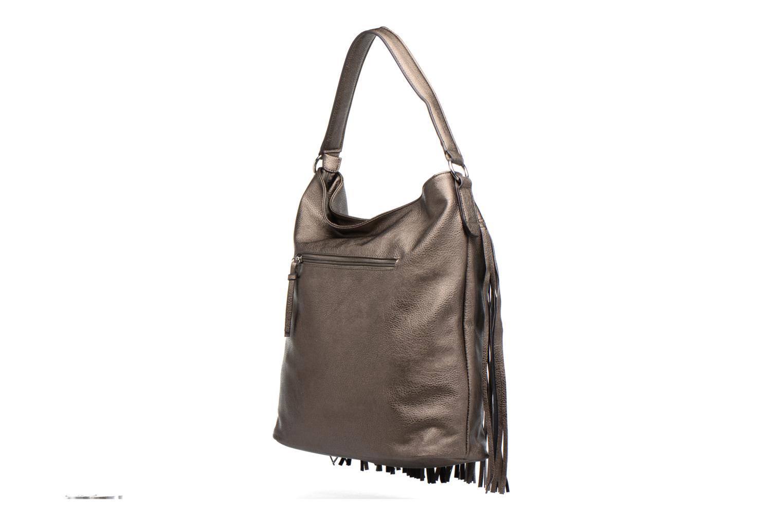 Sacs à main Tamaris Maila Hobo Bag Argent vue droite