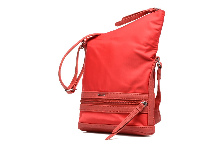 Sacs pochettes Tamaris Smirne Crossover Bag Rouge vue portées chaussures