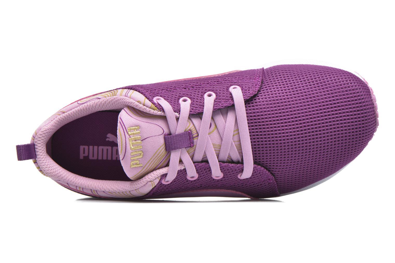 Baskets Puma Carson Marble Violet vue gauche