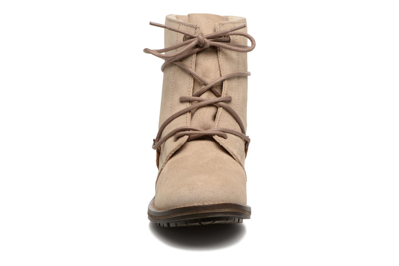 Bottines et boots Tamaris Joséphine Beige vue portées chaussures
