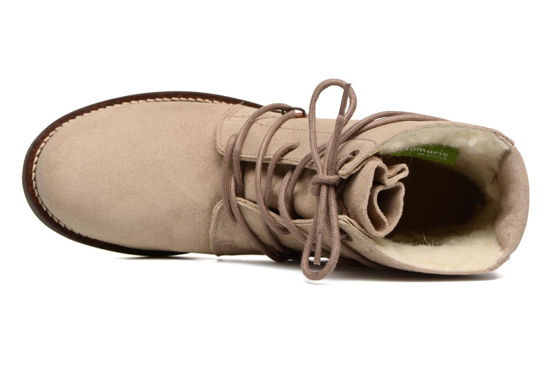 Bottines et boots Tamaris Joséphine Beige vue gauche