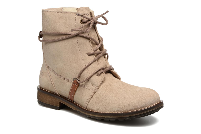 Ankle boots Tamaris Joséphine Beige detailed view/ Pair view