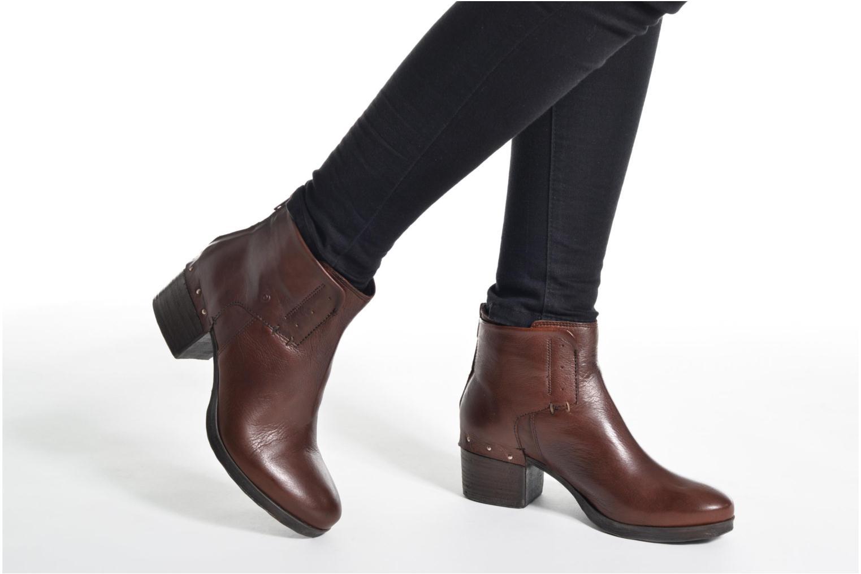 Bottines et boots Khrio Sablo Marron vue bas / vue portée sac