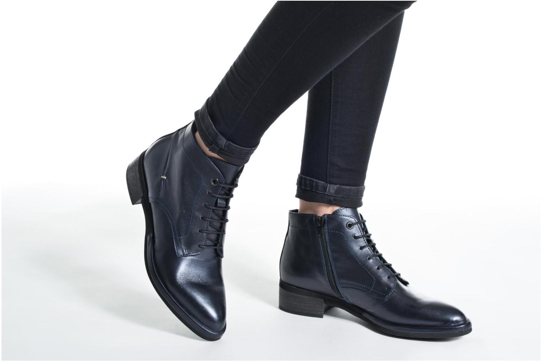 Bottines et boots Khrio Spritz Bleu vue bas / vue portée sac