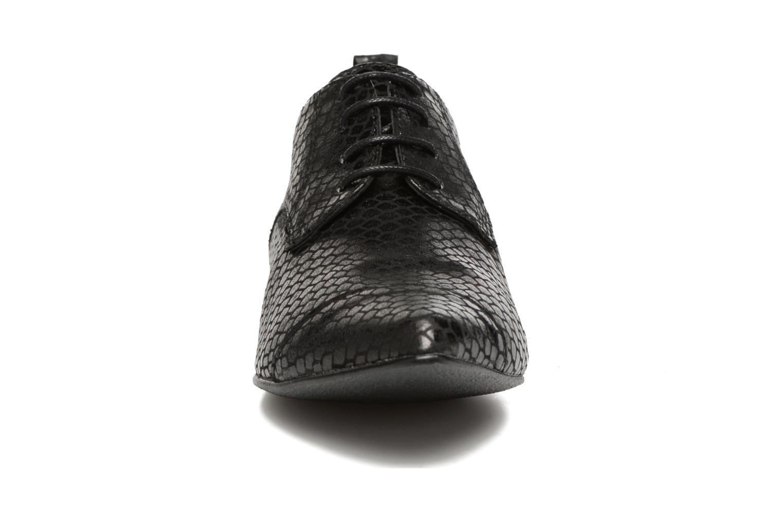 Chaussures à lacets Ippon Vintage Bad Metal Noir vue portées chaussures