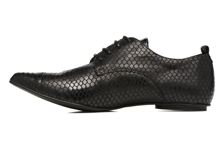 Chaussures à lacets Ippon Vintage Bad Metal Noir vue face