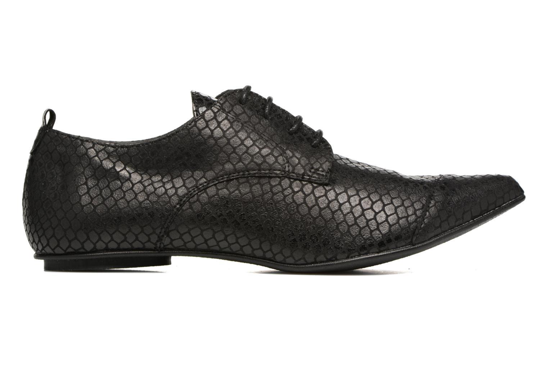 Chaussures à lacets Ippon Vintage Bad Metal Noir vue derrière