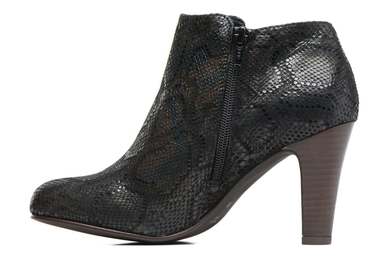 Bottines et boots Ippon Vintage Kate Snake Noir vue face