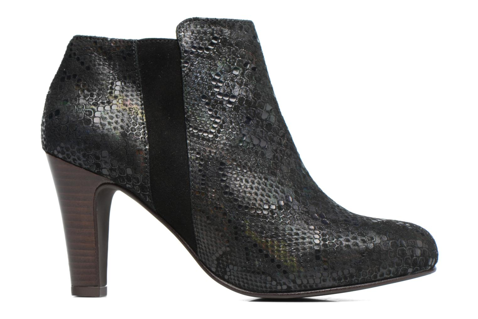Ankle boots Ippon Vintage Kate Snake Black back view