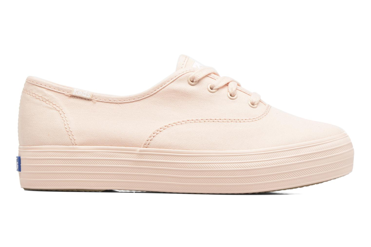 Trainers Keds Triple Mono Pink back view