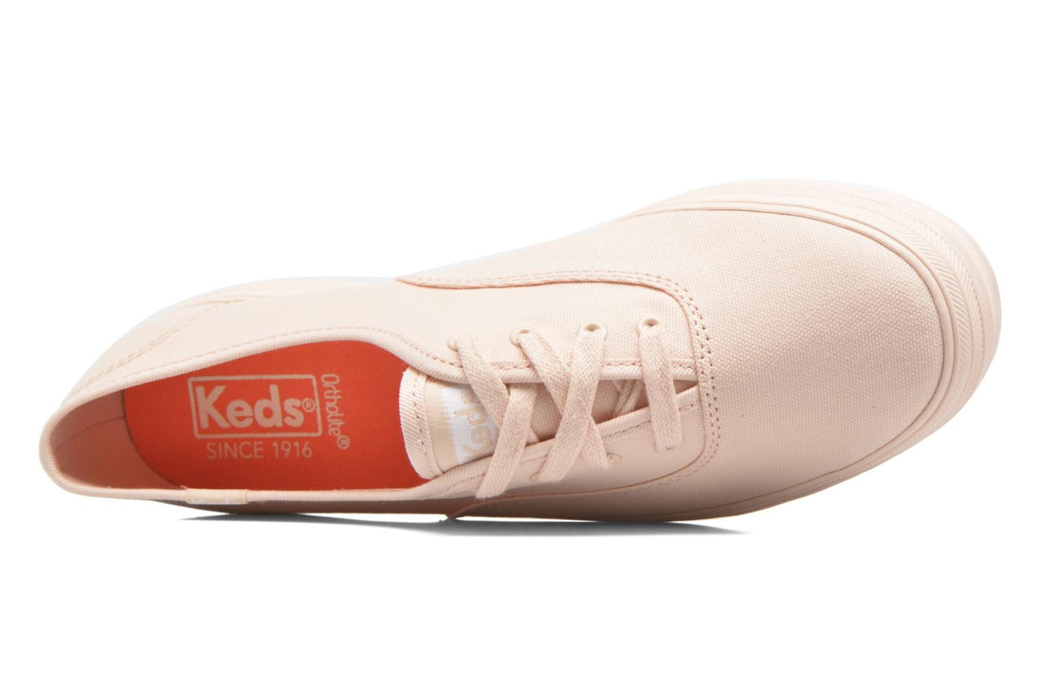 Trainers Keds Triple Mono Pink view from the left