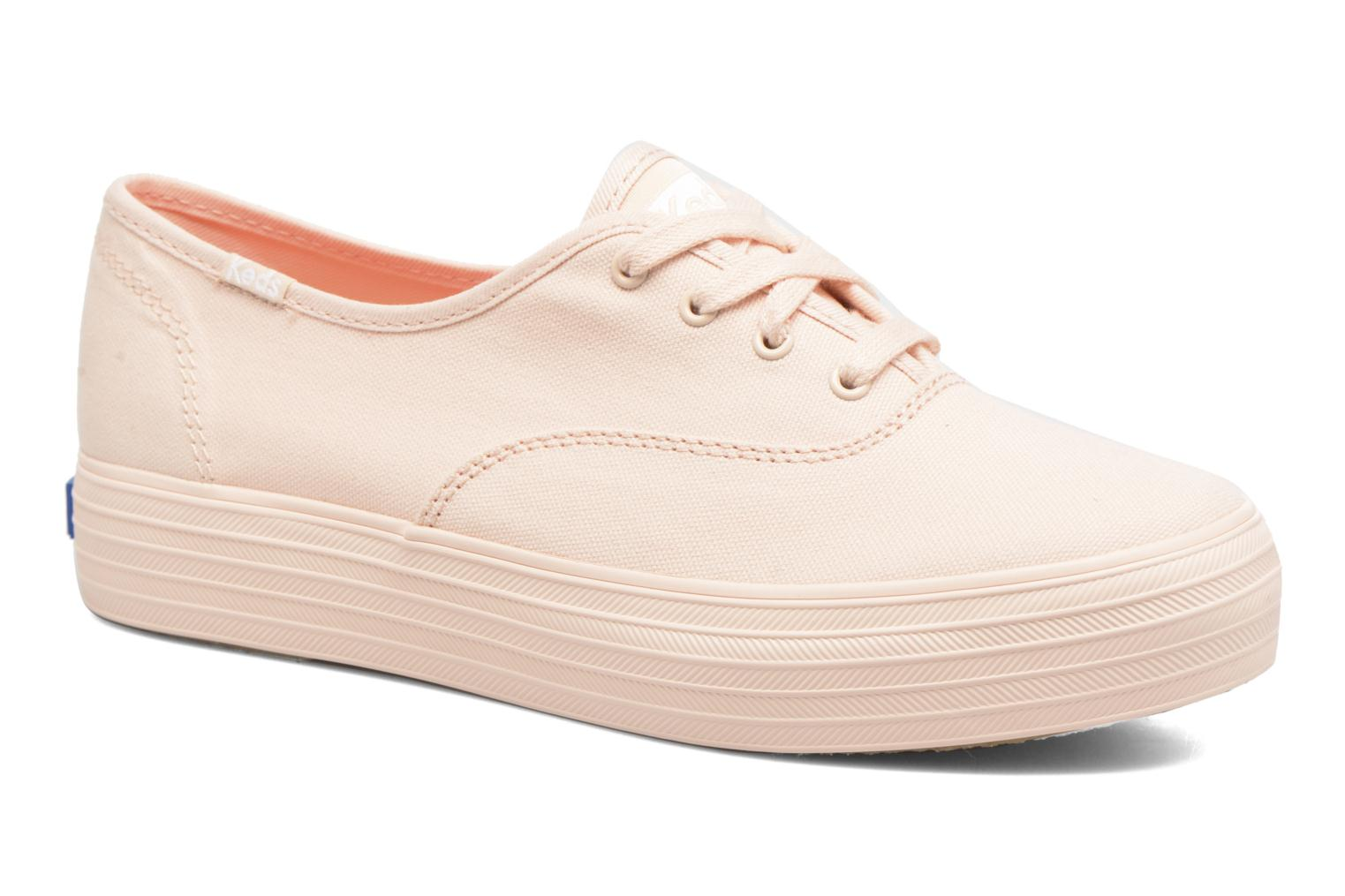 Trainers Keds Triple Mono Pink detailed view/ Pair view