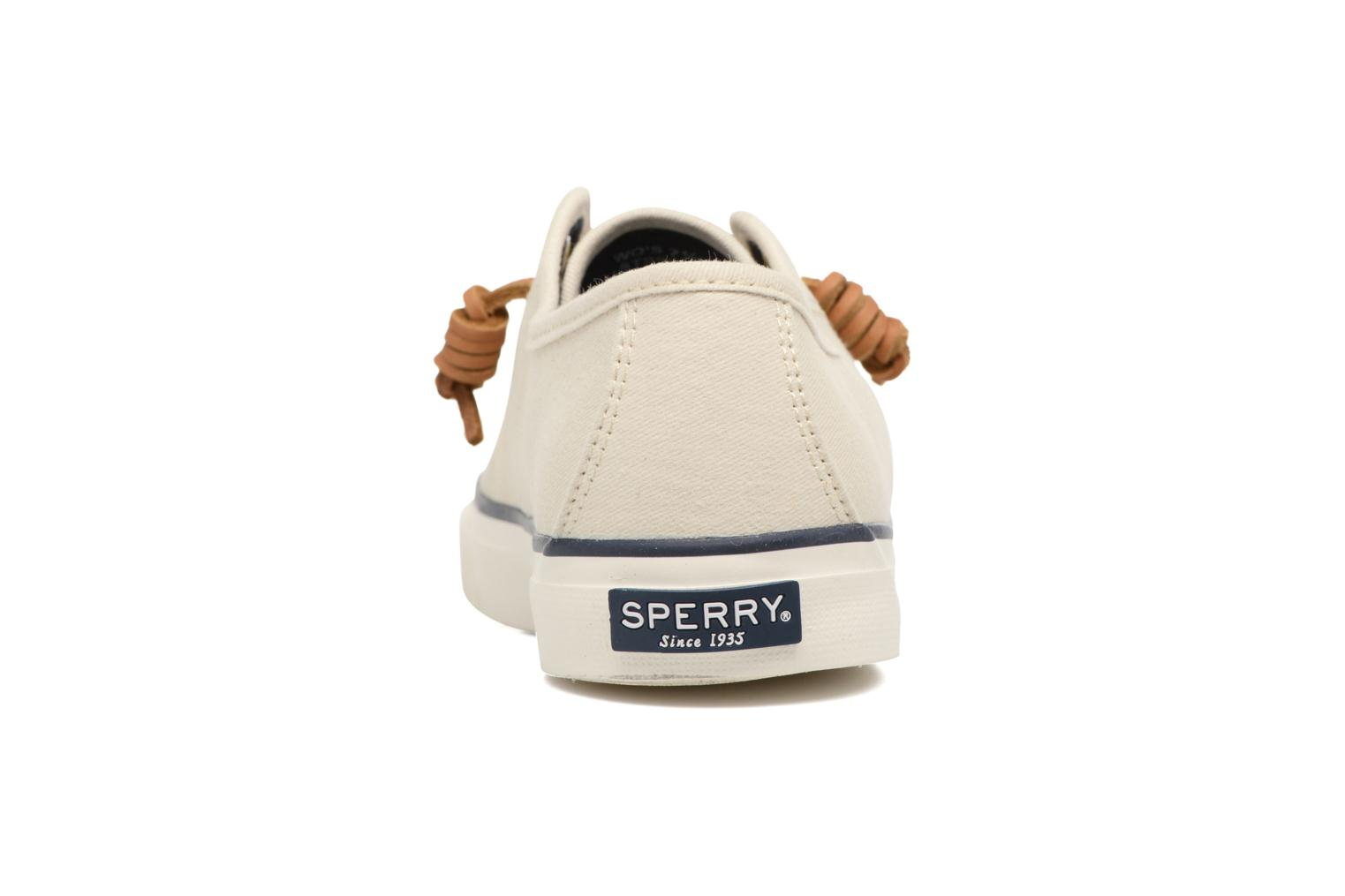 Baskets Sperry Seacoast Beige vue droite