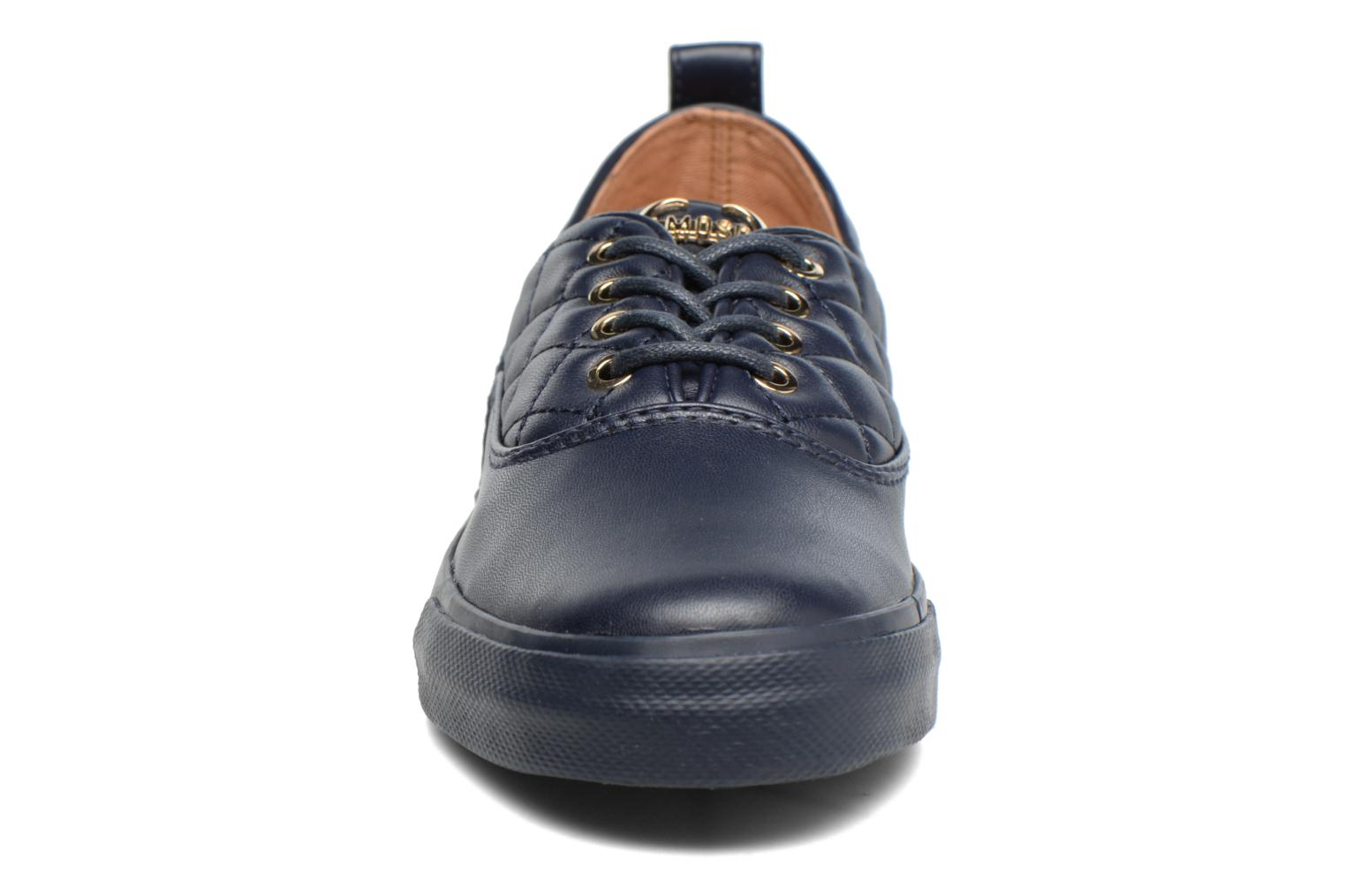 Trainers Love Moschino Superquilted Sneaker Blue model view