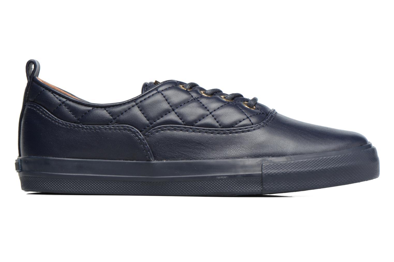 Sneakers Love Moschino Superquilted Sneaker Blauw achterkant