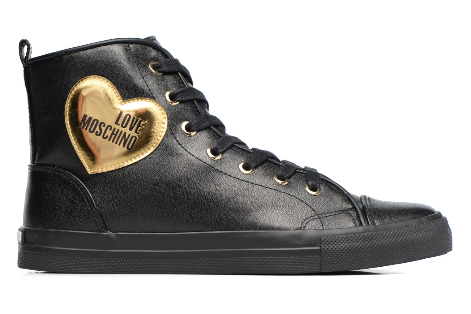 Baskets Love Moschino Gold Heart Basket Multicolore vue derrière