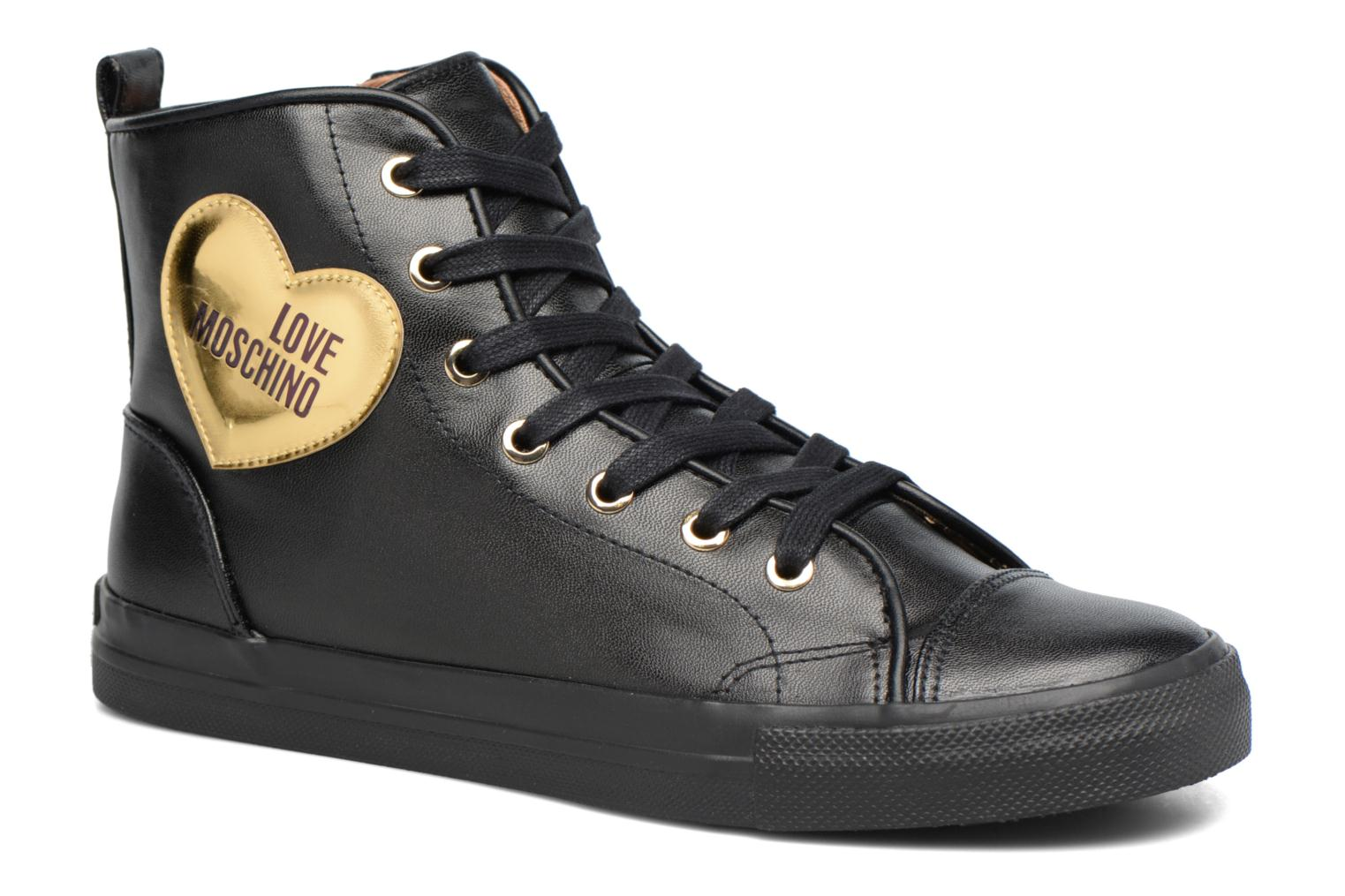 Baskets Love Moschino Gold Heart Basket Multicolore vue détail/paire