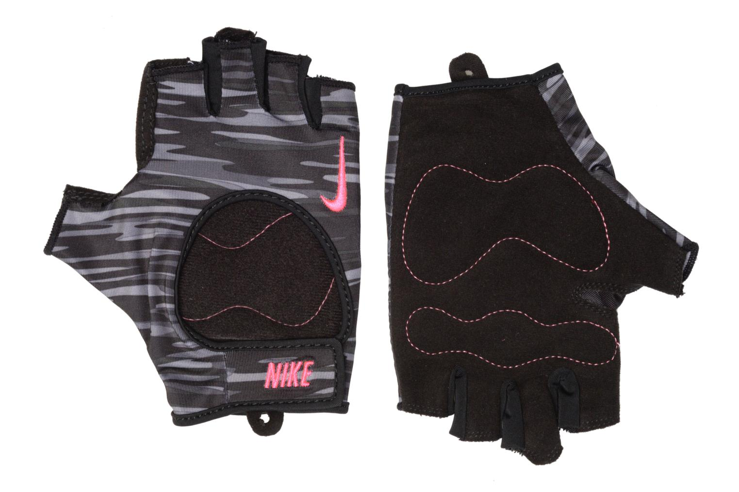 WOMEN'S FIT TRAINING GLOVES ANTHRACITE/BLACK/HYPER PINK