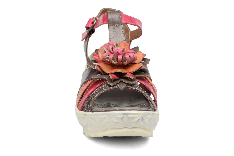 Sandales et nu-pieds Laura Vita Siecle Gris vue portées chaussures
