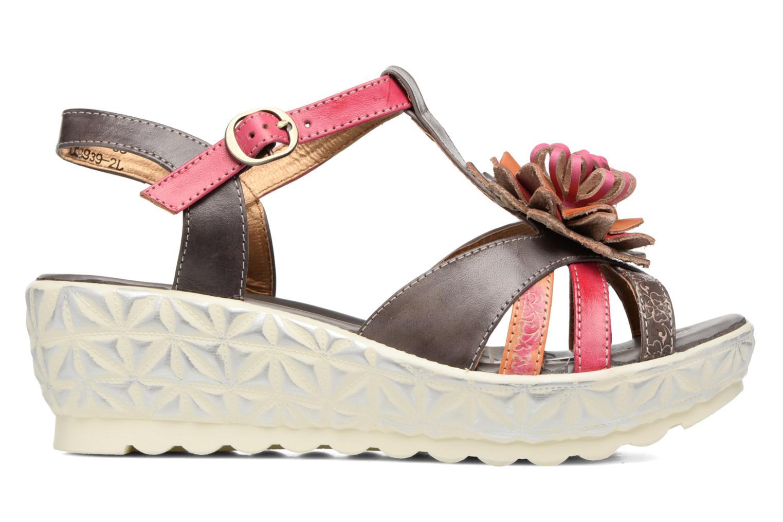 Sandales et nu-pieds Laura Vita Siecle Gris vue derrière