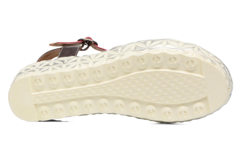 Sandales et nu-pieds Laura Vita Siecle Gris vue haut