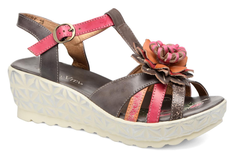 Sandales et nu-pieds Laura Vita Siecle Gris vue détail/paire