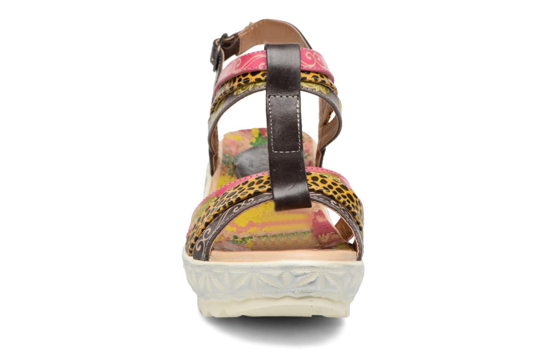 Sandales et nu-pieds Laura Vita Siege Multicolore vue portées chaussures