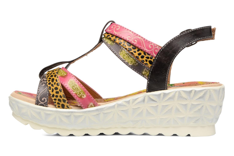 Sandales et nu-pieds Laura Vita Siege Multicolore vue face
