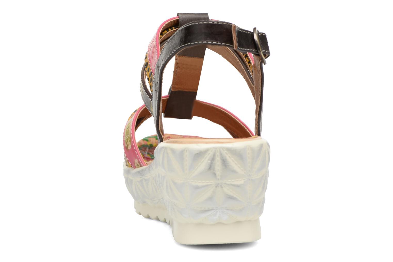 Sandales et nu-pieds Laura Vita Siege Multicolore vue droite