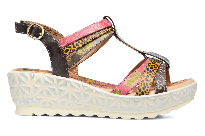 Sandales et nu-pieds Laura Vita Siege Multicolore vue derrière