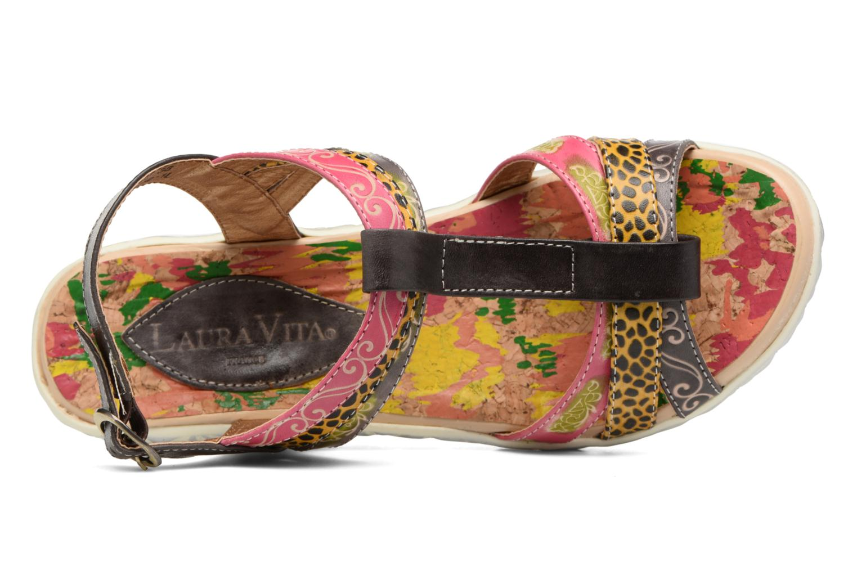 Sandales et nu-pieds Laura Vita Siege Multicolore vue gauche