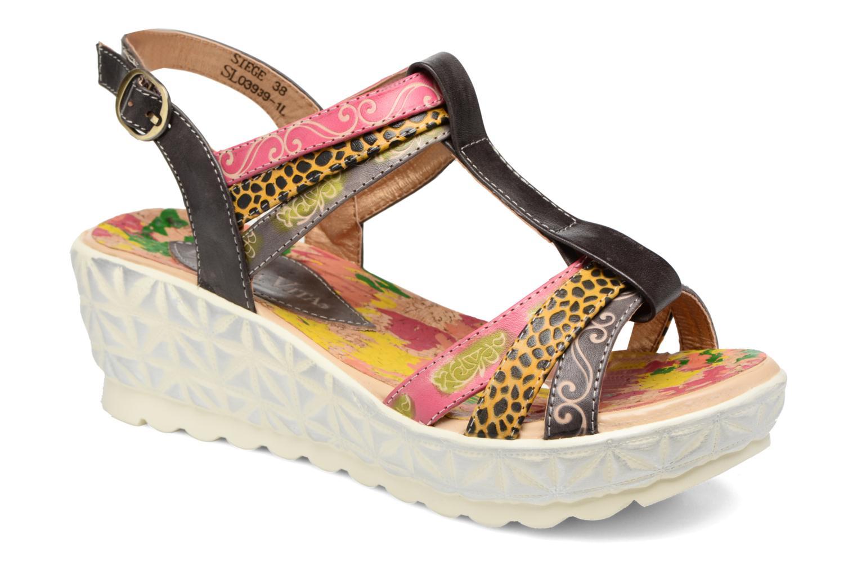 Sandales et nu-pieds Laura Vita Siege Multicolore vue détail/paire