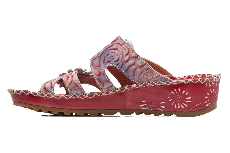Sandales et nu-pieds Laura Vita Valette Rouge vue face
