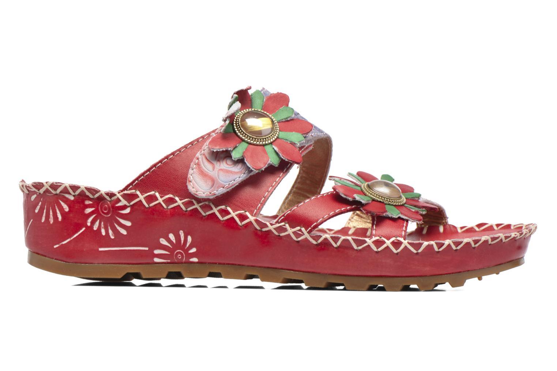 Sandales et nu-pieds Laura Vita Valette Rouge vue derrière