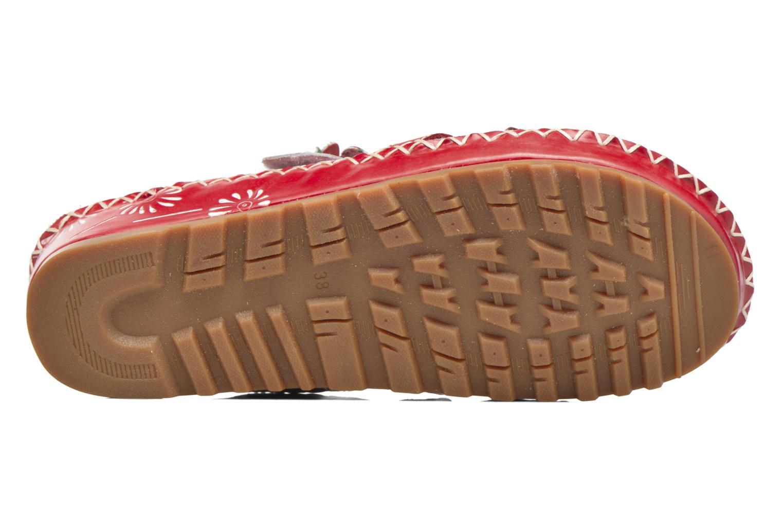 Sandales et nu-pieds Laura Vita Valette Rouge vue haut