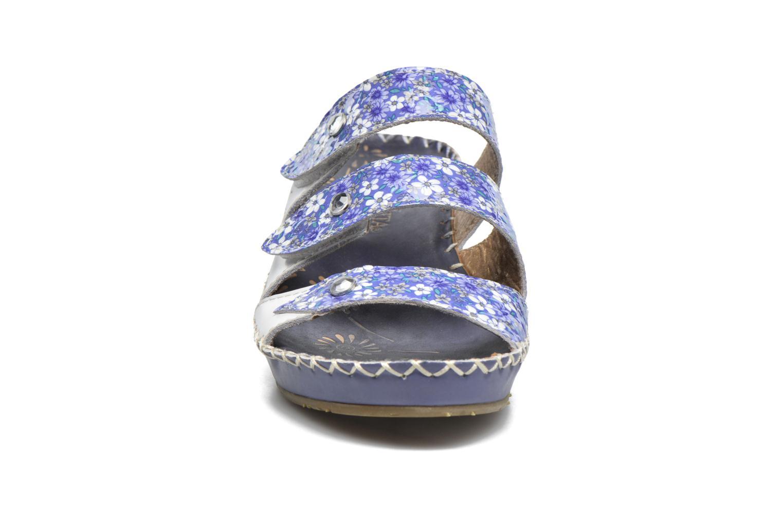 Sandales et nu-pieds Laura Vita Vally Bleu vue portées chaussures