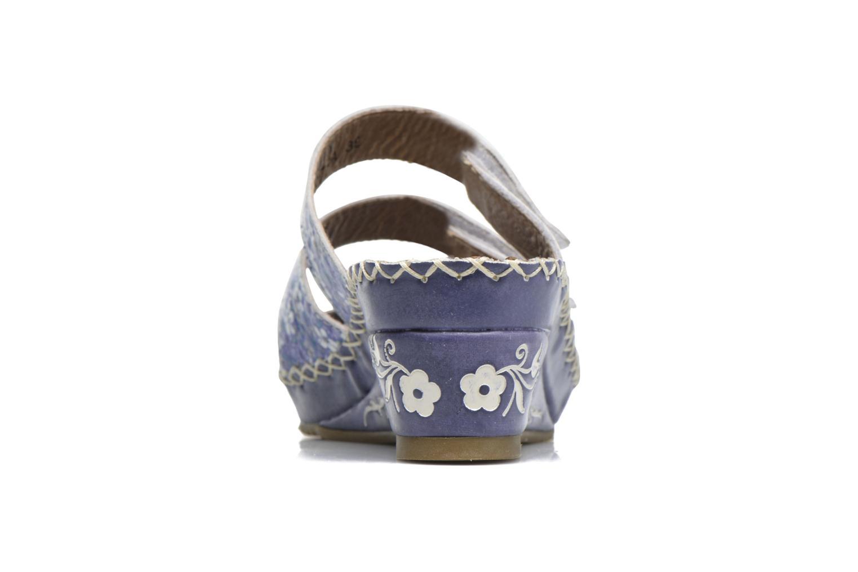 Sandales et nu-pieds Laura Vita Vally Bleu vue droite