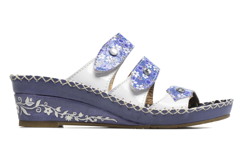 Sandales et nu-pieds Laura Vita Vally Bleu vue derrière