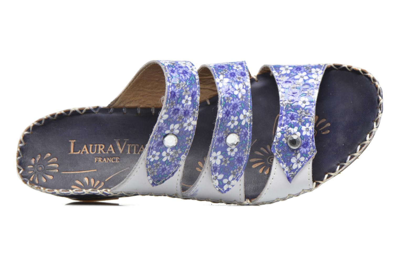 Sandales et nu-pieds Laura Vita Vally Bleu vue gauche