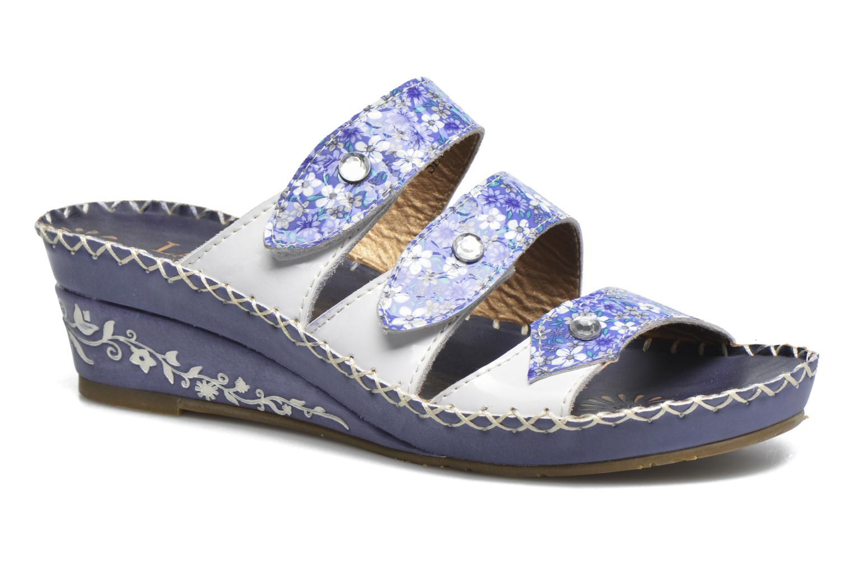 Sandales et nu-pieds Laura Vita Vally Bleu vue détail/paire