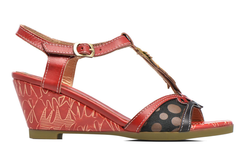 Sandales et nu-pieds Laura Vita Veli Rouge vue derrière