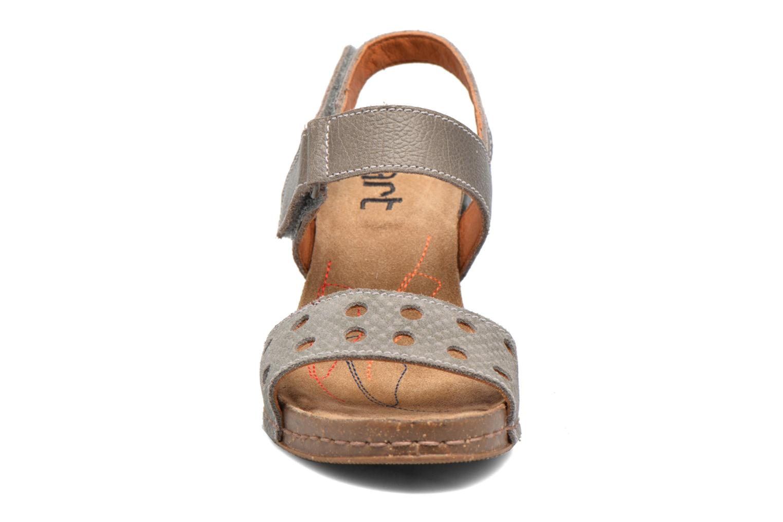 Sandales et nu-pieds Art I Feel 228 Gris vue portées chaussures