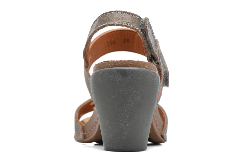 Sandales et nu-pieds Art I Feel 228 Gris vue droite