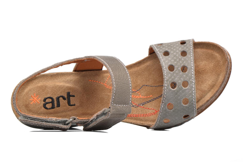 Sandales et nu-pieds Art I Feel 228 Gris vue gauche
