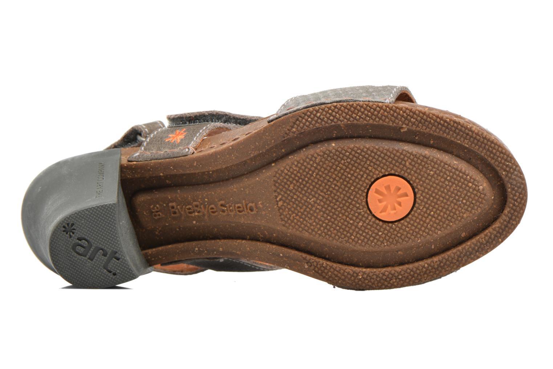 Sandales et nu-pieds Art I Feel 228 Gris vue haut