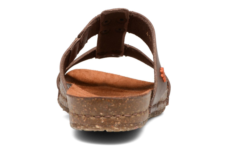 Sandales et nu-pieds Art Creta 418 Marron vue droite
